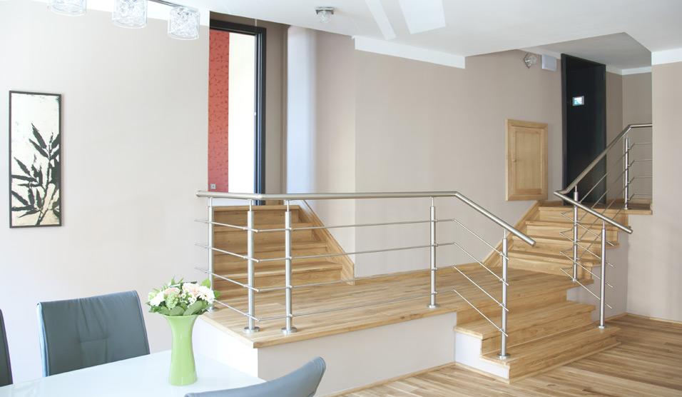 Apartmán - schodiště