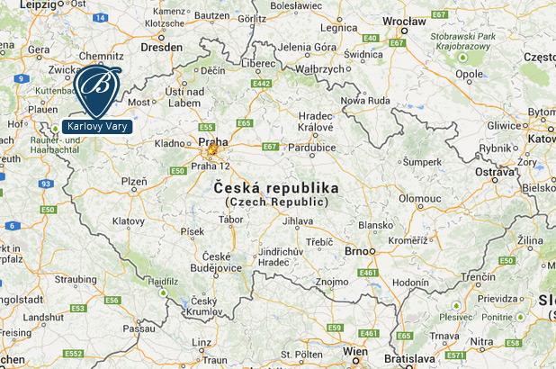 map - getting to suite BECHERPLATZ